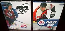 NHL '98 & NHL '99, Hockey, EA Sports (PC, 1997 & 1998) Combo Lot NISB