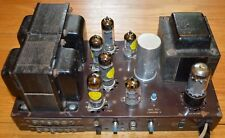 fisher sa 100 6bq5 el84 7189 stereo vacuum tube amplifier
