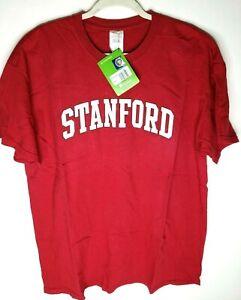 Two Feet Ahead NCAA Stanford Cardinal Children Unisex Short Sleeve Tshirt,Small,Crimson