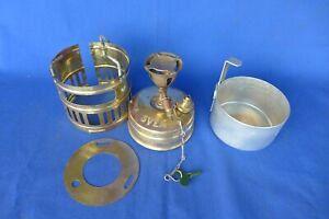 Vintage SVEA 123 Brass Camp Stove Tested Works Cup Handle