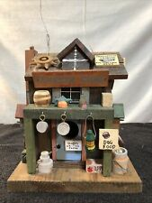 Old Fashion General Store Wood Birdhouse