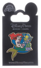 Disney Jerry Leigh Ariel and Flounder Pin With Packing