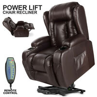 Zero Gravity Electric Massage Chair Power Recliner Lift 8 Points Remote Control