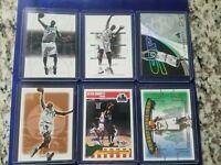 Kevin Garnett Basketball Card Lot of 7. Minnesota Timberwolves HOF