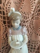 Lladro 5429 Happy Birthday No Box! Glossy! End of Bow Chipped Off! L@K!