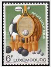 Timbre Sports Luxembourg 961 ** lot 20494