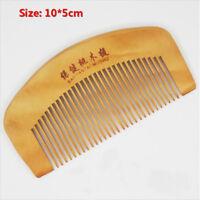 Mens Beard Mustache Brush Military Hard Wood Handle comb Wooden comb GN