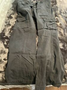 Dickies Women's Black Cargo Pants 12R Relaxed