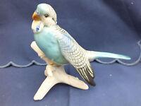 Ens Porzellanfigur Vogel Wellensittich blau 16cm - sehr guter Zustand Thüringen