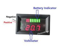 36volt Charge Meter + Voltmeter Acid Lead Battery Indicator LED EZGO Club Car