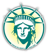 Statue Of Liberty New York USA Car Bumper Sticker Decal 5'' x 5''