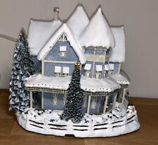 "Thomas Kinkade Hawthorne Village ""Holiday Bed And Breakfast Lighted 2000"