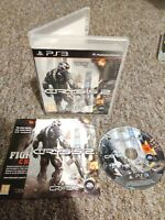 Crysis 2 - Sony Playstation PS3 Game - With MANUAL! Private Seller - FREE P&P!