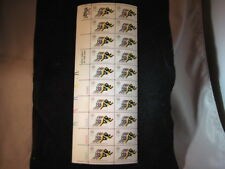 {BJ stamps} #1462  Olympics---Running. 15¢  MNH Sheet of 20 Issued  in 1972.
