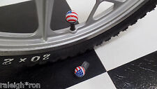 RRC USA American Flag BMX Muscle Bike Freestyle Bicycle Dice Valve Caps
