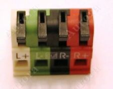 Elan Speaker Connector - Fits Models:  S6, M86A, S86AV, A1240 and others