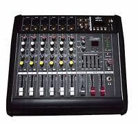 6 KANAL live mixer POWERMIXER 1200 Watt   neues modell 2018