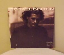 "Michael Bolton ""(Sittin' On) The Dock of the Bay"" b/w ""Call My Name"" 45rpm w/PS"