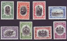 North Borneo 1931 SC 185-192 MH Set 50th Anniversary