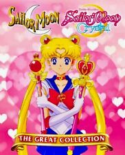 Sailor Moon (Season 1 2 3 4 5 + Crystal + 3 Movie) ~ 11-DVD SET~ English Version