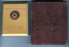 Médaille de table - LABOURIER Serge 1963/1964 Rotary club ARBOIS-POLIGNY-SALINS