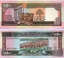 LIBAN Billet neuf de 500 LIVRES Pick68  RUINES  vue de BEYROUTH 1988