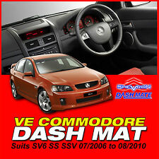 DASH MAT HOLDEN Commodore VE SS SSV SV6 07/2006-8/2010 SHEVRON DASHMAT DM1012