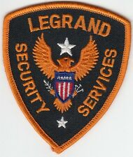 LEGRAND SECURITY SERVICES SHOULDER PATCH
