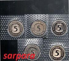 5 DM STGL  FOLIE Sie Wählen ab 1975  bis -1989 ab 5 auktionen  portofrei
