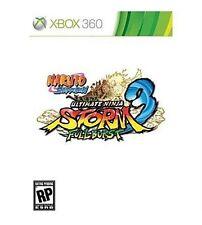 Naruto Shippuden: Ultimate Ninja Storm 3 - Full Burst (Xbox 360)- Missing Manual