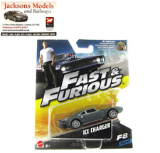 Hot Wheels FCF58 Doms Dodge Ice Charger Fast & Furious 8 Mattel 2017 1:55 Scale