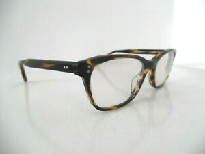 Oliver Peoples Handmade Brown Ashton Oval Eye Glasses OV5224 1003 50 17 140