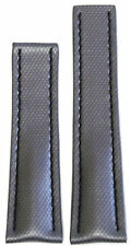 24mm RIOS1931 for Panatime Silver Kevlar Style Watch Band w BS For Breitling Dep