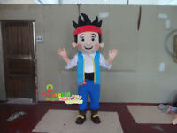 Halloween Jack Boy Mascot Costume Suits Cosplay Party Game Dress Outfits Adults