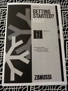 Zanussi User Manual In Czech And Slovenia ZBB28441SA Fridge Freezer