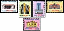 TURKEY 2004, OFFICIAL POSTAGE STAMPS, OLD BUILDINGS, MNH