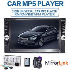 6.6'' 2DIN HD Bluetooth Car Radio Digital MP5 Head Unit USB AUX FM WINCE System