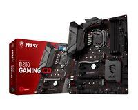 MSI B250 GAMING M3 INTEL Lightning USB Motherboard Crossfire DDR4 LGA1151 F47
