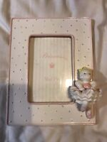 Princess Ballerina Picture Frame Holds A 4 X 6 Photo Frame Is 9 X 7""