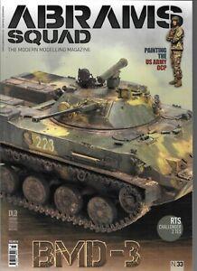 Abrams Équipe: The Moderne Modelage Magazine N0. 33, US Armée Ocp , BMD-3 NM St