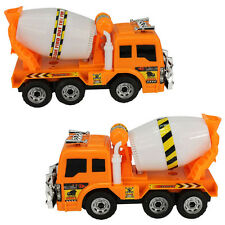 Boys large Music Flash Truck Cement Electric Mixer Toy Car Non-remote Control