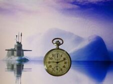 Analoge Silber Taschenuhren mit Chronograph
