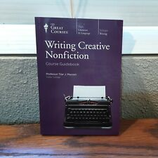 The Great Courses Writing Creative Nonfiction Course Guidebook Professor Mazzeo