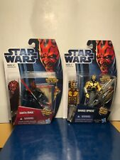 STAR WARS SAVAGE OPRESS THE CLONE WARS & DARTH MAUL MOVIE HEROES