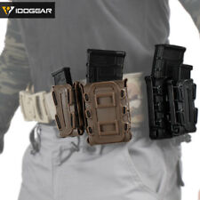IDOGEAR Military 5.56 Magazine Pouch MOLLE Magazine Holder Mag Carrier 9mm