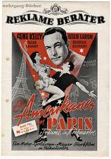 """Presseheft: Gene Kelly, """"Ein Amerikaner in Paris"""" von 1952"""