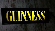 Vintage Guinness Light Sign Beer Pub ShopDecor Advertising Display man cave