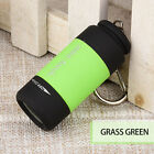 USB Rechargeable LED Light Flashlight Pocket Keychain Mini Torch Waterproof Hots