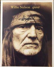Willie Nelson Autigraphed 8x10 Photo