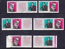 Gestempelte Briefmarken der DDR (1960-1970)